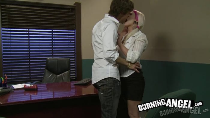 Jessie Lee in In The Principal's Office