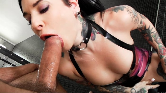 Joanna Angel in Joanna Angel Throated